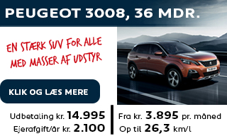 Ny Peugeot 3008 SUV privatleasing